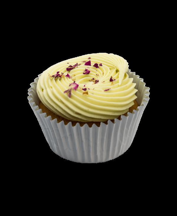 Persian vanilla cupcake