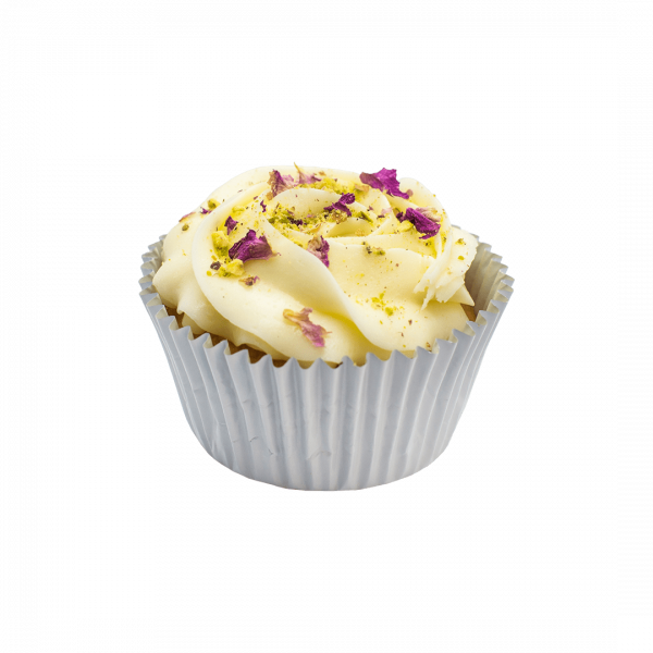 Saffron Fiesta cupcake