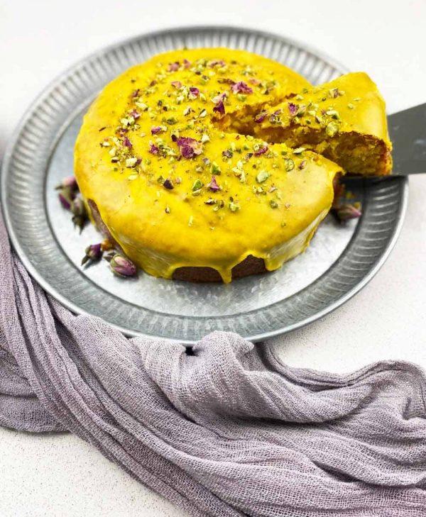 Saffron Persian love Cake