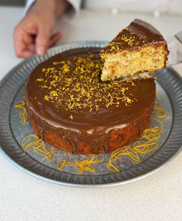 Gluten Free orange walnut cake