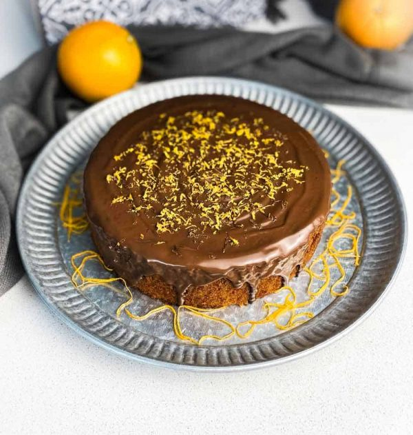 Gluten Free Orange and walnut cake