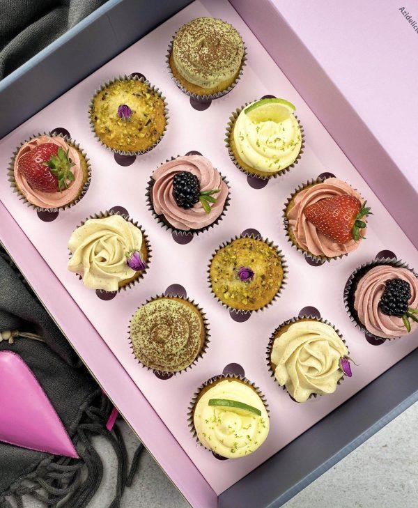 Valentine Cupcake Box