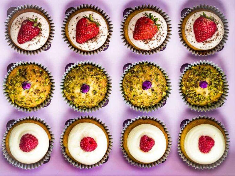 Refreshing Mix Assorted cupcake box