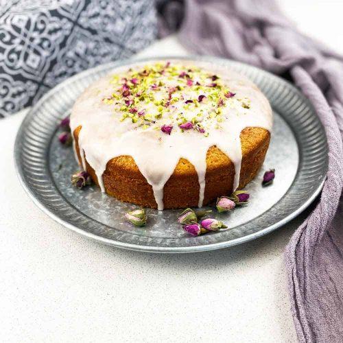 Persian Love Cake rosewater Cardamom