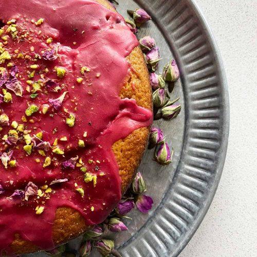 Persian Love Cake Raspberry